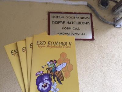 Eko bojanka V - put medonosne pčele